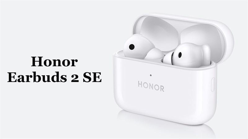 Honor Earbuds 2 SE ra mắt: Có chống ồn chủ động, pin 32 tiếng, dùng làm micrô quay vlog, giá 1.7 triệu đồng