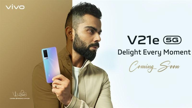 Vivo V21e 5G được ấn định ngày ra mắt