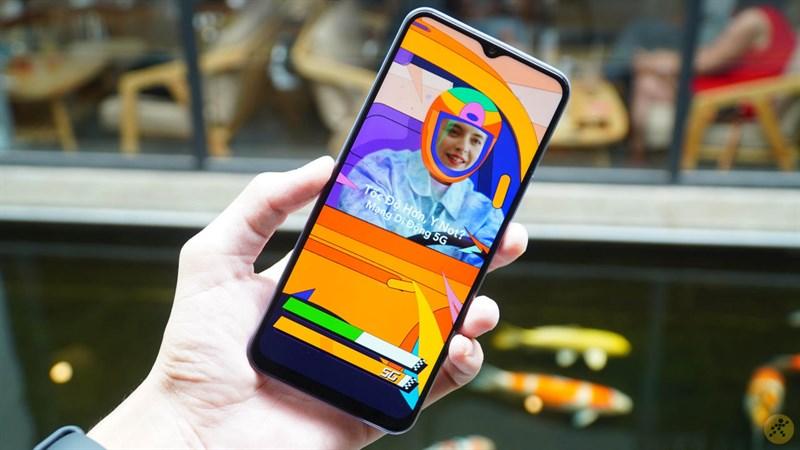 Vivo Y72 5G màn hình siêu đẹp