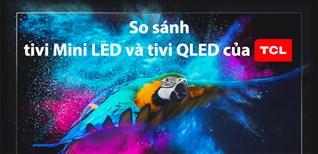 So sánh công nghệ QLED và Mini LED trên tivi TCL