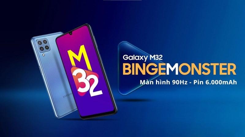 Galaxy M32 ra mắt