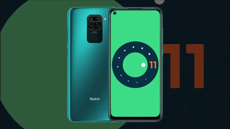 Redmi Note 9 chạy Android 11