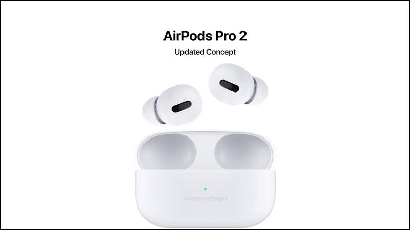 Concept AirPods Pro 2: Thiết kế hạt đậu trông lạ và rất đẹp mắt