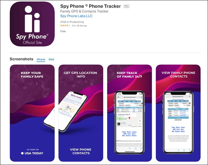 Phần mềm Spy Phone