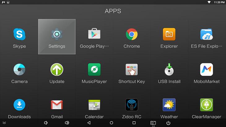 Tắt các ứng dụng ngầm trên android tivi box