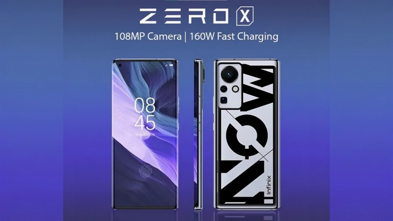 Infinix Zero X sạc nhanh 160W