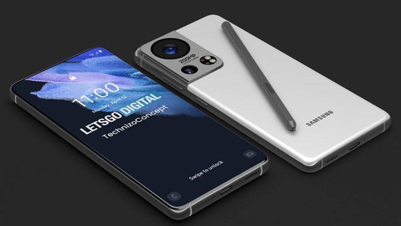 Ảnh concept của Galaxy S22