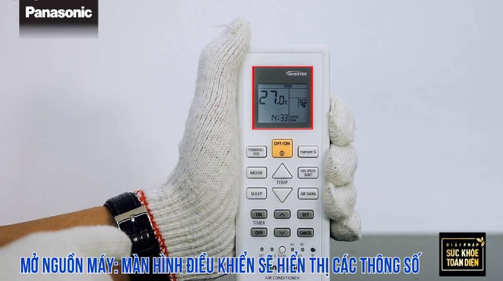 Hướng dẫn sự dụng các chức năng trên điều khiển máy lạnh - Mở thiết bị