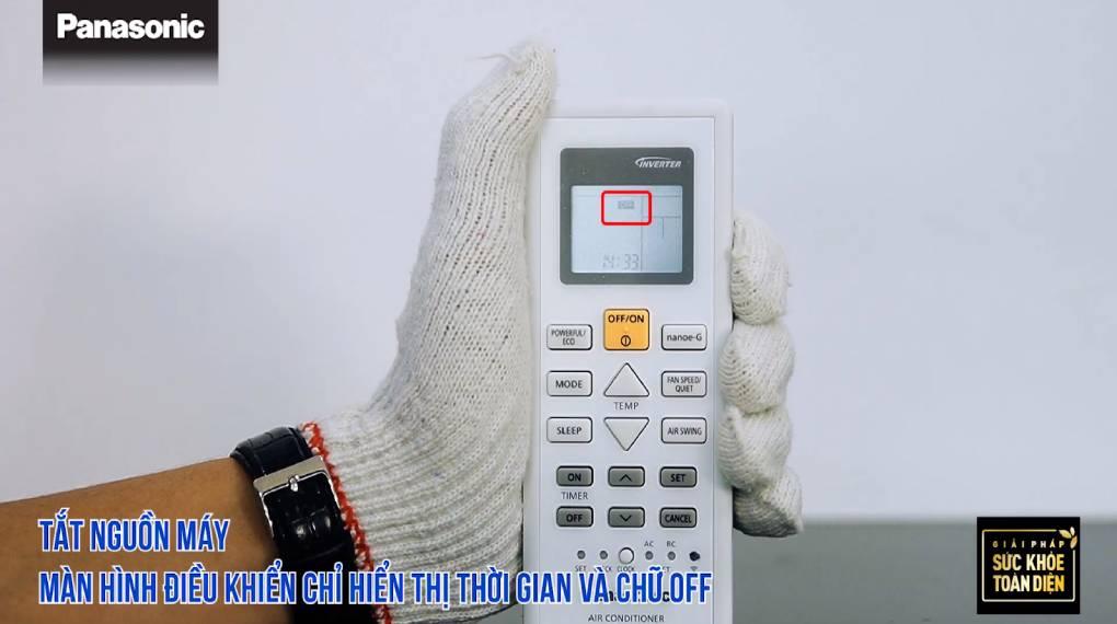 Hướng dẫn sự dụng các chức năng trên điều khiển máy lạnh - Tắt thiết bị