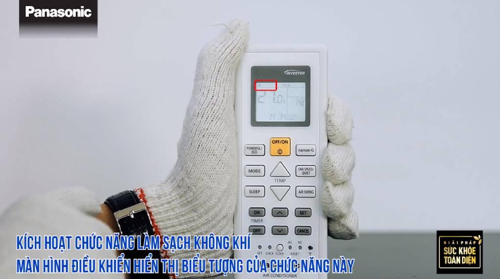 Hướng dẫn sự dụng các chức năng trên điều khiển máy lạnh - Kich hoạt Nanoe-G