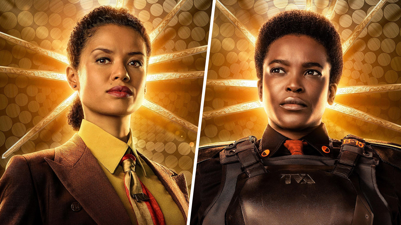 Gugu Mbatha-Raw và Wunmi Mosaku trong Series Loki