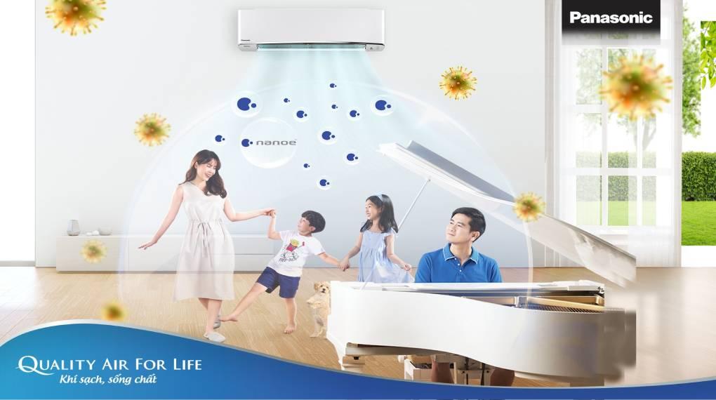Nanoe-G lọc sạch không khí