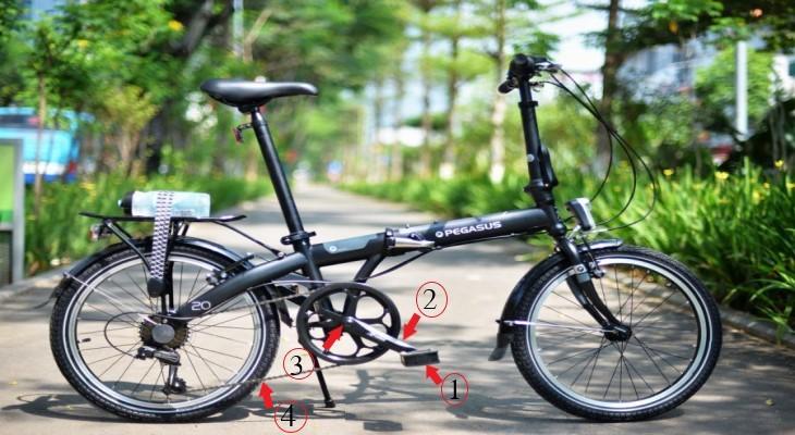 Pedal (bàn đạp) xe đạp