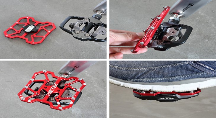 Pedal (bàn đạp) xe đạp đường bộ