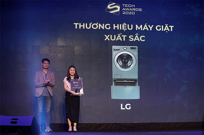 LG nhận thưởng Tech Awards 2020 về thương hiệu máy giặt xuất sắc nhất
