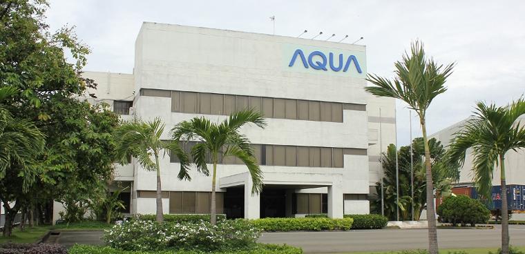 Trụ sở nhà máy AQUA tại Biên Hòa