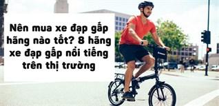 Nên mua xe đạp gấp hãng nào tốt? 8 hãng xe đạp gấp nổi tiếng trên thị trường