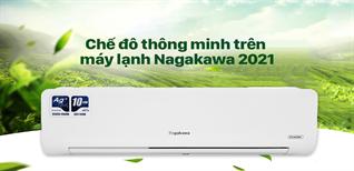 3 chế độ làm lạnh thông minh trên Máy lạnh Nagakawa 2021