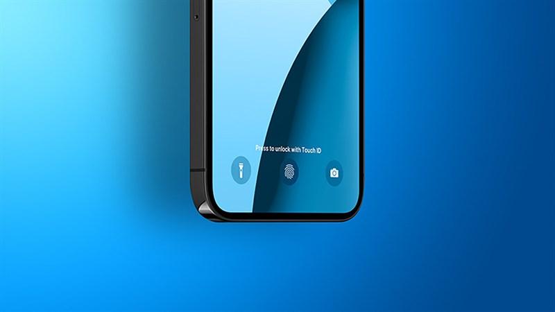 iPhone 14 sẽ có Touch ID dưới màn hình, 2 phiên bản kich thước 6.7inch