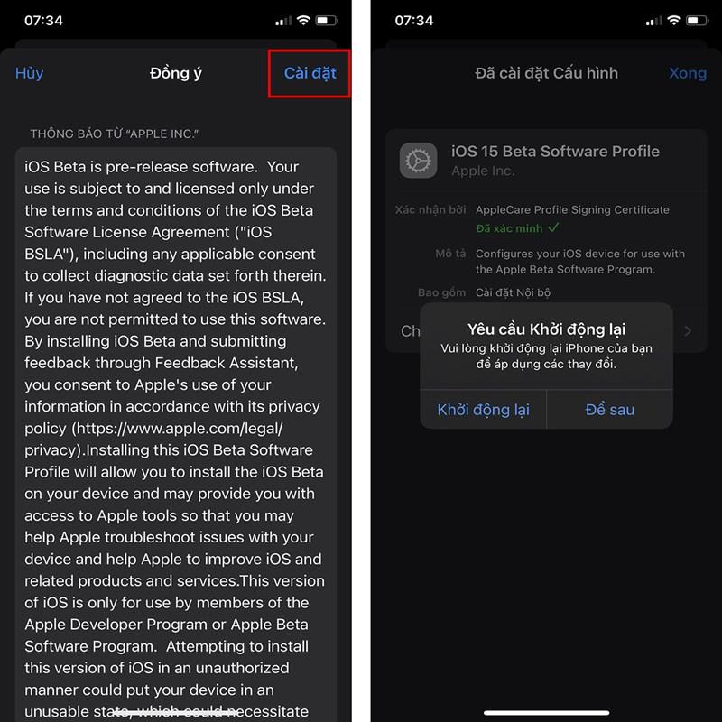 Cách cập nhật iOS 15 Beta 2 mới-9