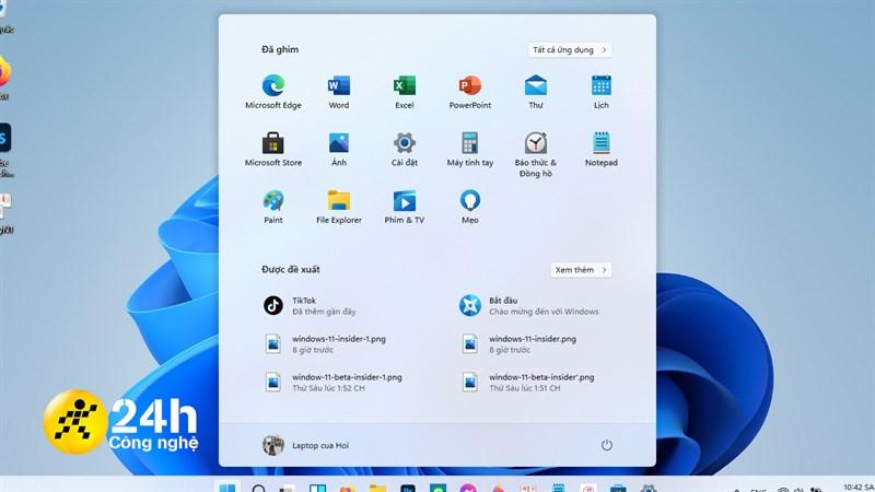 Bạn thích Start Menu được đặt ở chính giữa như trên Windows 11 hay là như vị trí cũ?.