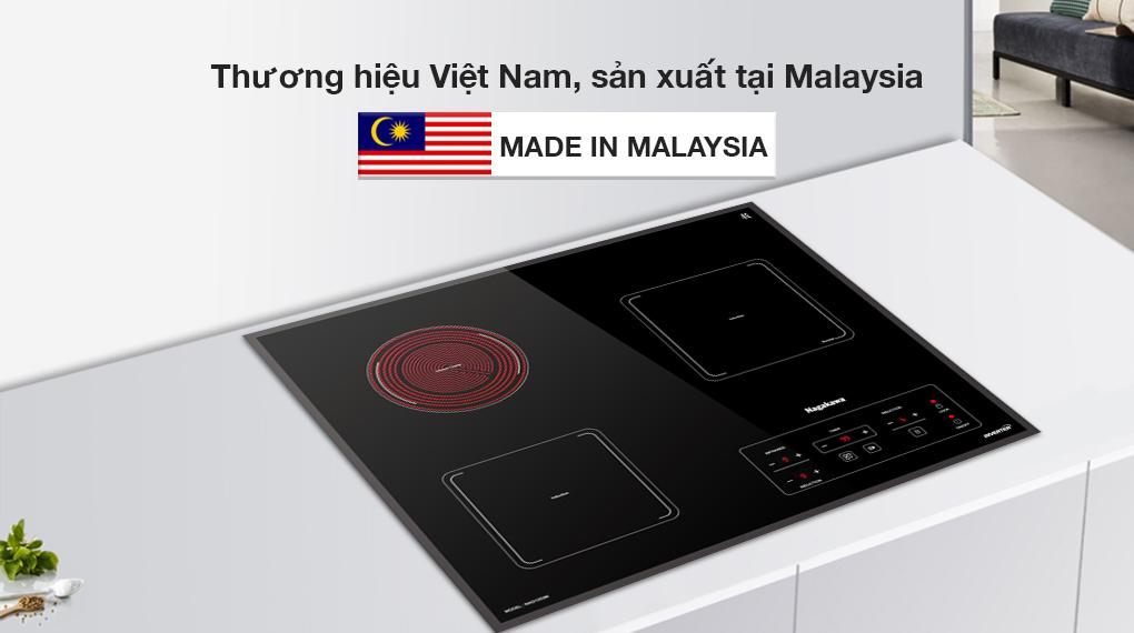 Dòng bếp điện từ Nagakawa cao cấp sản xuất tại Malaysia