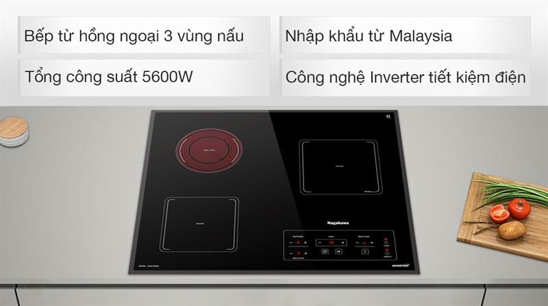 Cách nhận biết bếp từ có sử dụng công nghệ Inverter