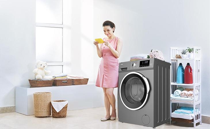 Máy giặt Galanz được tích hợp đa dạng chương trình tự động