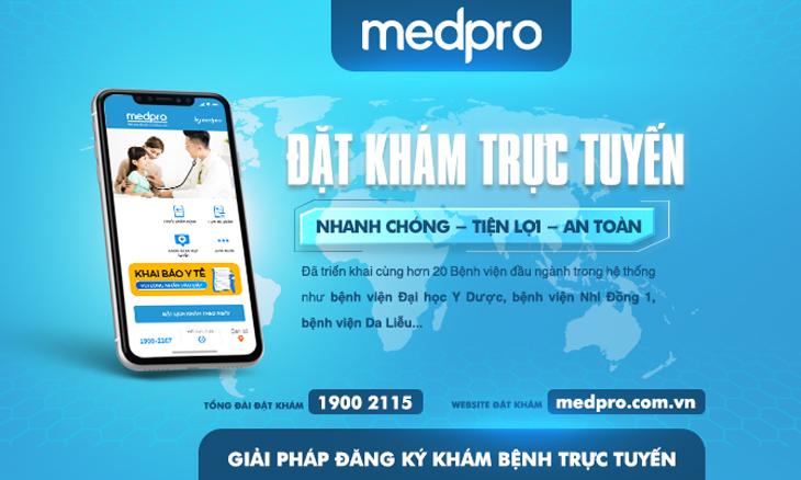 Triển khai giải pháp đặt Khám trực tuyến MedPro