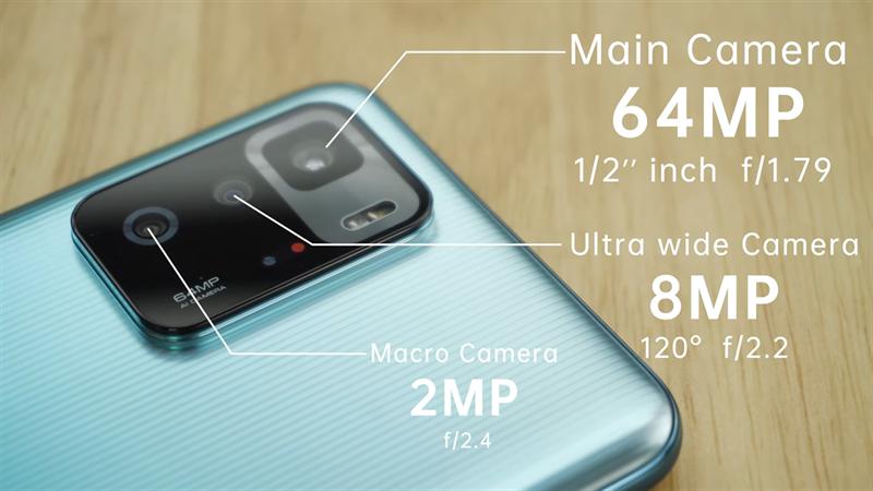 Hệ thống camera trên Redmi Note 10 Pro 5G gần như giống hệt với trên Redmi K40 Gaming Edition. Nguồn: Gizmochina.
