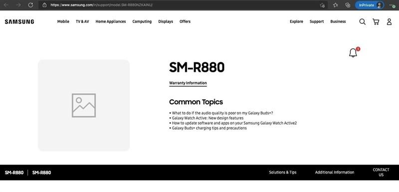 Galaxy Watch 4 bất ngờ xuất hiện trên trang web chính thức, ngày ra mắt sắp đến?