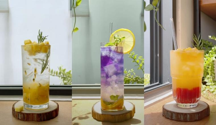Tổng hợp 3 công thức làm soda mát lạnh lại vừa đẹp giải khát mùa hè