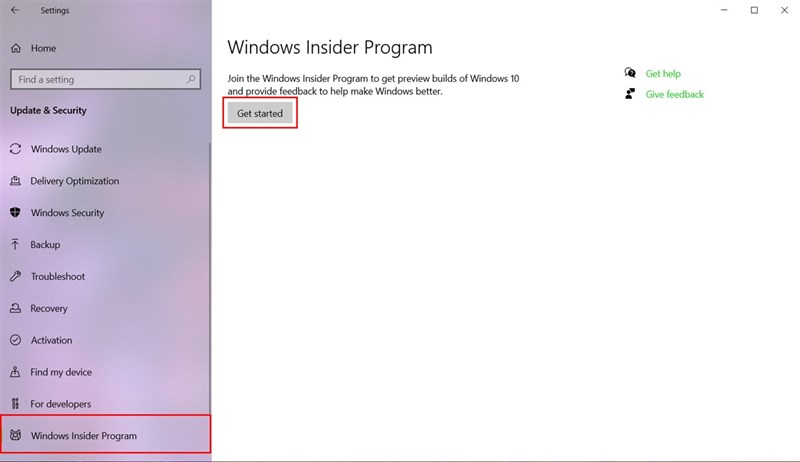 Cách cập nhật Windows 11 Insider Preview