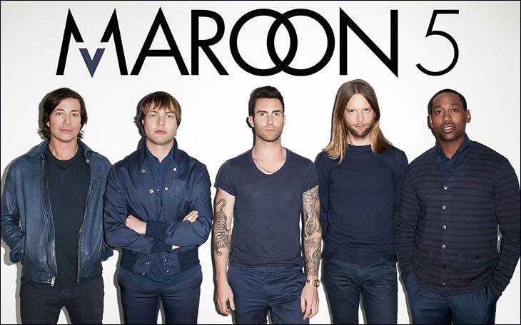 Top 16 bài hát hay nhất của Maroon 5 - nhóm nhạc 'ngũ quái' đình đám