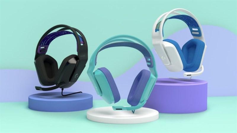 Tai nghe chơi game Logitech G335 ra mắt: Nhiều màu sắc, giá 1.6 triệu