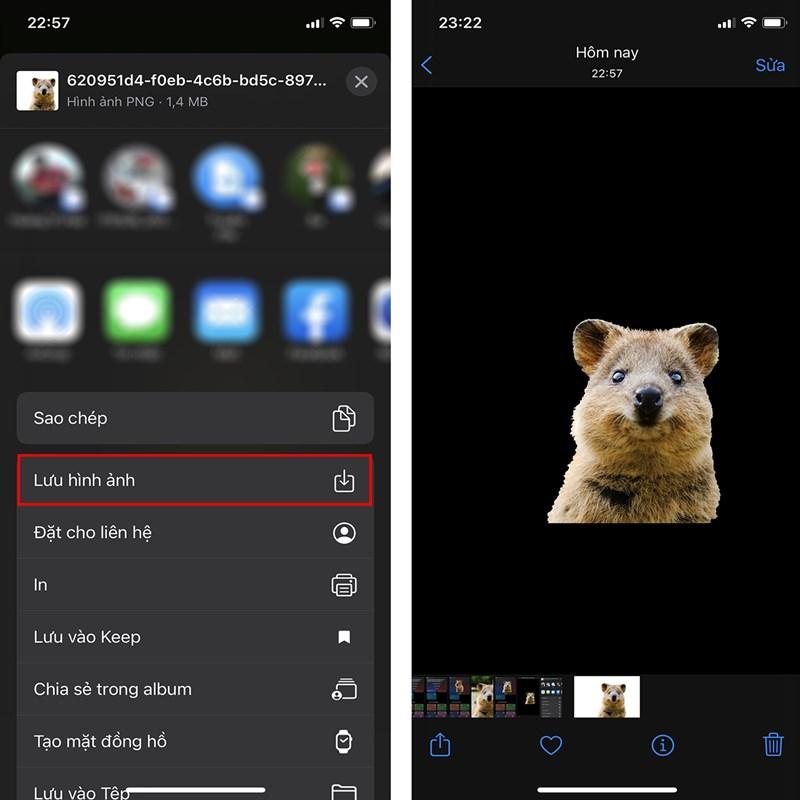 Cách tách nền ảnh bằng iPhone-5