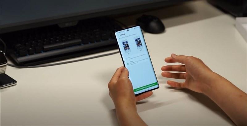 LG Velvet 2 Pro được trang bị tần số quét 120 Hz nên không khó để thấy rằng chúng ta có thể điều chỉnh tần số quét