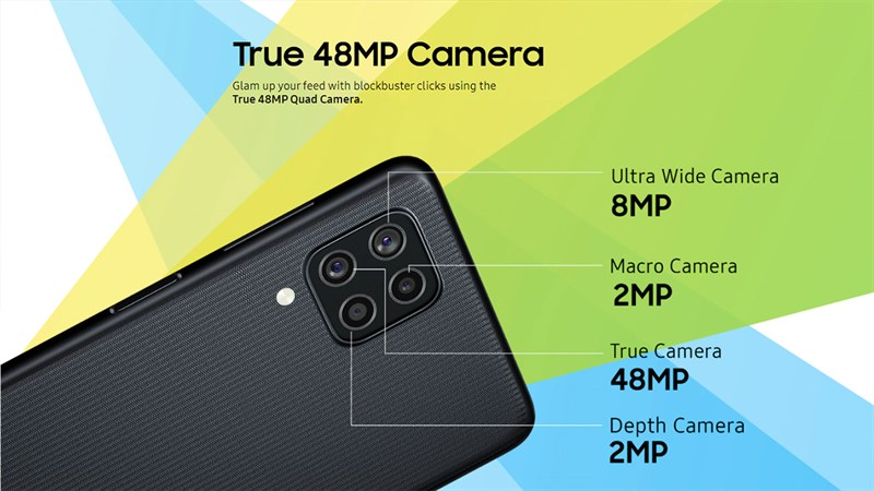 Samsung trang bị cho Galaxy F22 4 camera