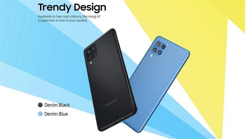 Thiết kế tổng thể của Samsung Galaxy F22