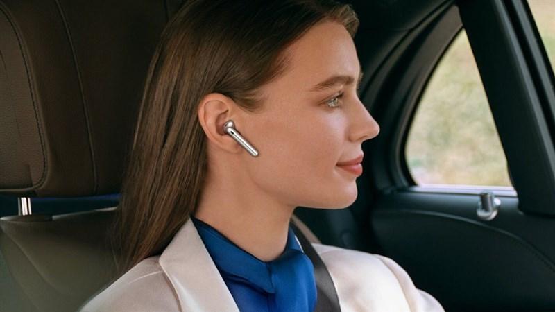 Tai nghe không dây Huawei FreeBuds 4 thiết kế