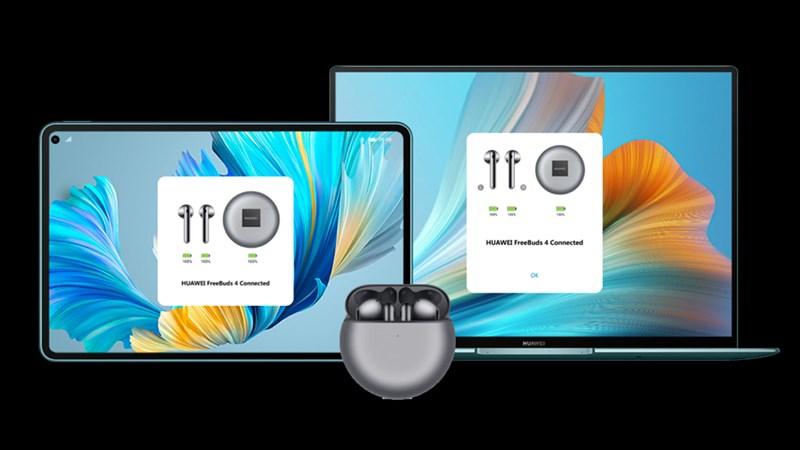 Tai nghe không dây Huawei FreeBuds 4 kết nối kép