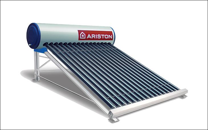 Máy năng lượng mặt trời Ariston Eco Tube được tích hợp thêm Hệ thống điều khiển thông minh và thanh đốt tăng cường