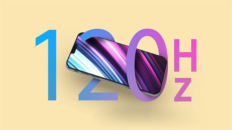 Rất có thể iPhone 13 Pro sẽ được trang bị màn hình 120 Hz