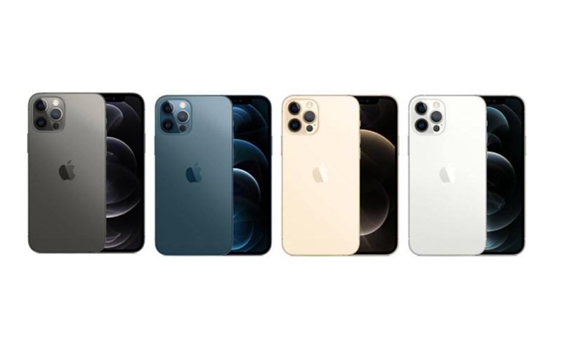 iPhone 12 Pro chỉ có 4 màu sắc cơ bản