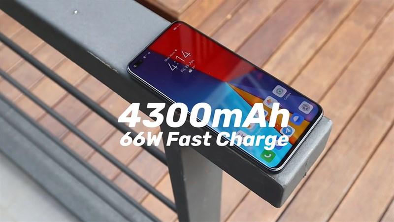 Huawei Nova 8i được trang bị viên pin 4.300 mAh