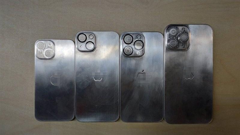 Khung vỏ iPhone 13 bị rò rỉ