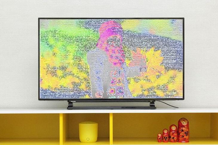 Màn hình tivi Sony bị sọc đứng, sọc ngang