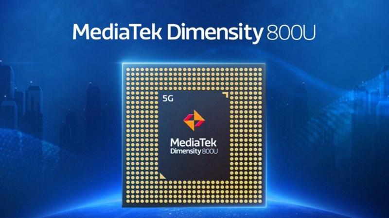 OPPO Reno6 Z 5G được trang bị con chip Dimensity 800U
