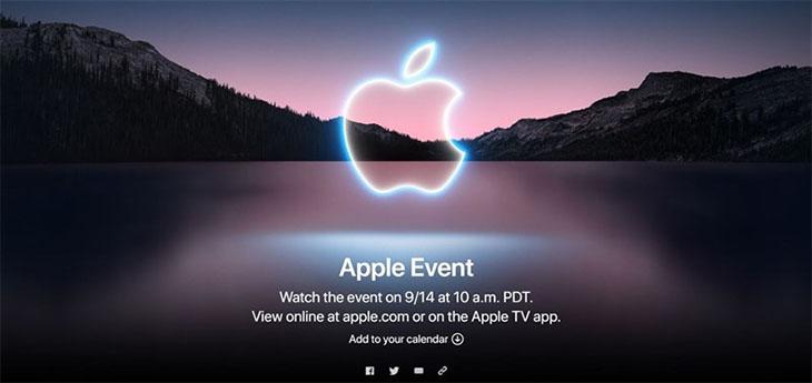Sự kiện ra mắt iPhone 13 được Apple ấn định vào tối ngày 14/9
