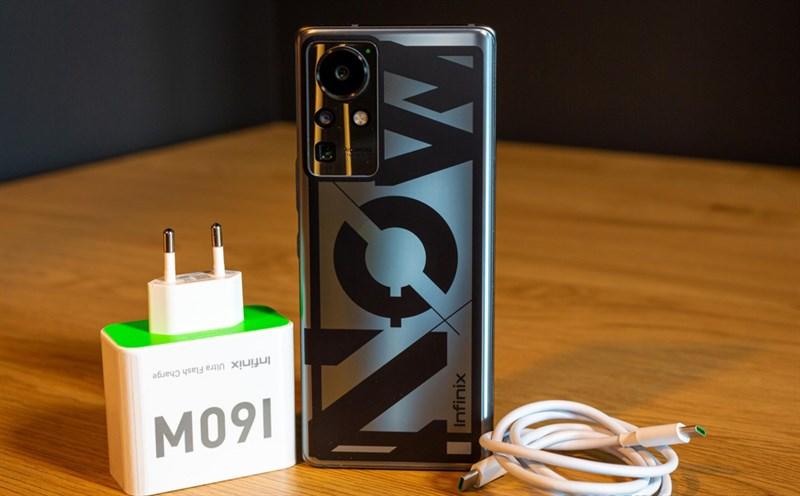Điện thoại Infinix Concept 2021 đang thử nghiệm với sạc nhanh 160W